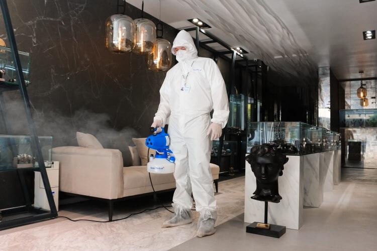 Servicii dezinfectie nebulizare ULV